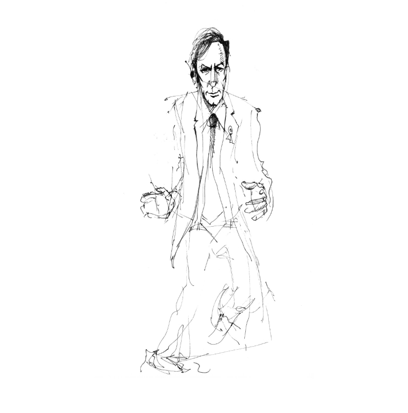 Saul Goodman Sketch